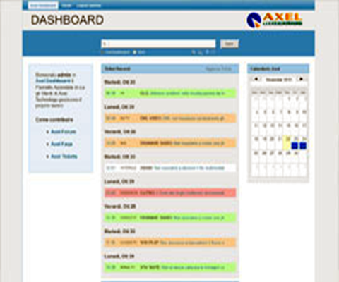 axel dashboard